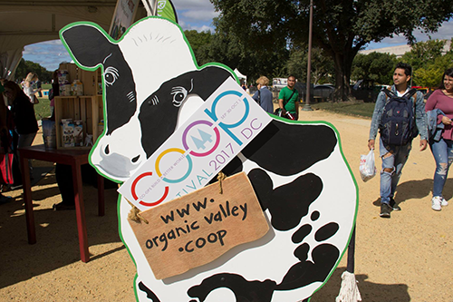 Organic Valley is partnering with us again this year to host the Kids' Zone at the Co-op Festival.